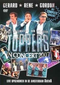 Cover Gerard - Rene - Gordon - Toppers In Concert 2007 [DVD]